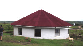 Onduline roofing, Eastern Cape, South Africa