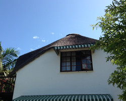 Gable ends of the original thatched roof