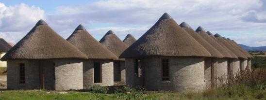 Cultural Centre Thatching Project in the Eastern Cape