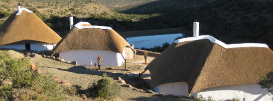 Side By Side Safari Lodge Thatching Project - Eastern Cape, South Africa