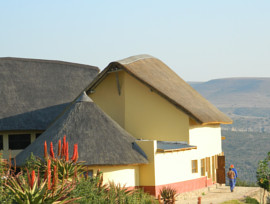 Mvezo admin block thatched roof