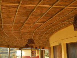 Latha Ceilings at Mvezo Thatching Project