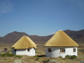 Thatched Lodge, thatching project Eastern Cape
